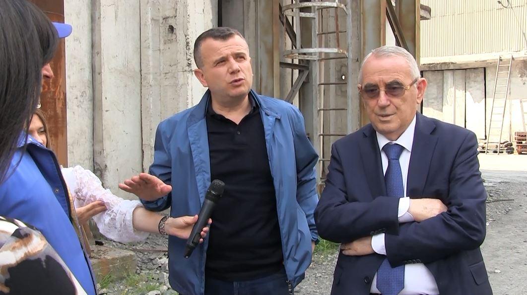 Balla kontroll në befasi industrive në Elbasan