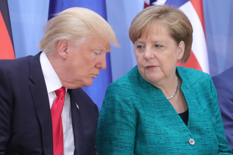 Merkel, në fund të muajit në SHBA/Takim me Trump