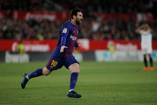Dy gola të Mesit i dhanë fitoren Barcelonës