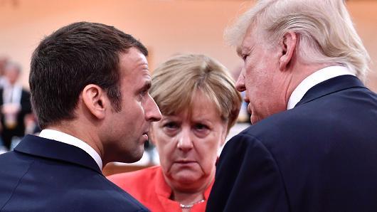 """Vizita """"e padëshiruar"""" e Merkel në SHBA"""