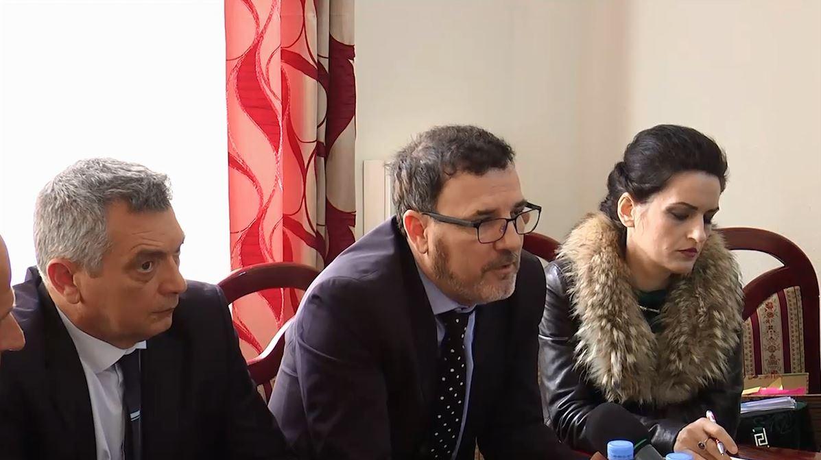 Zv/Ministri Shkreli takime në Tropojë për Rrugën e Kombit