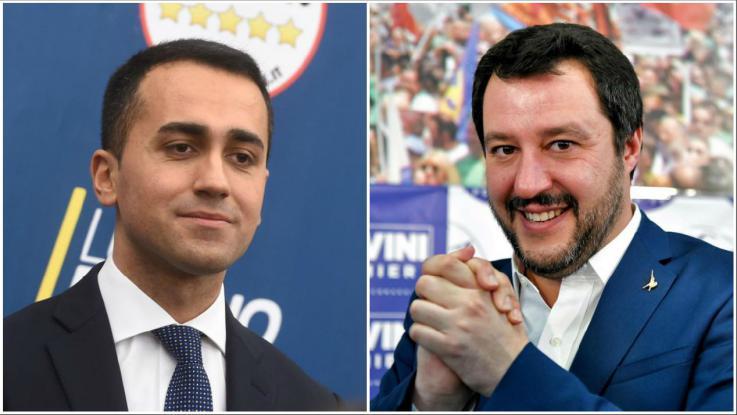 Presidenti Matarella pret pasditen e së hënës Di Maion dhe Salvinin