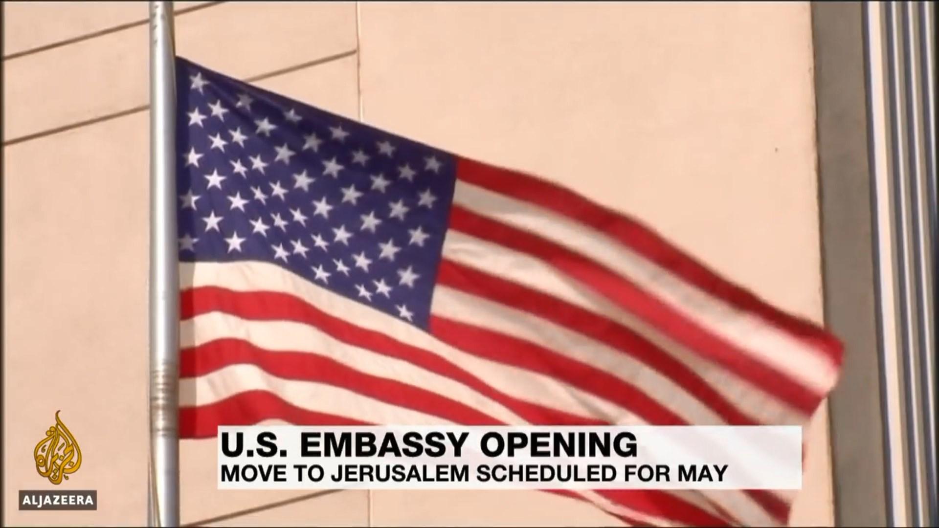 Përurimi i ambasadës amerikane në Jeruzalem