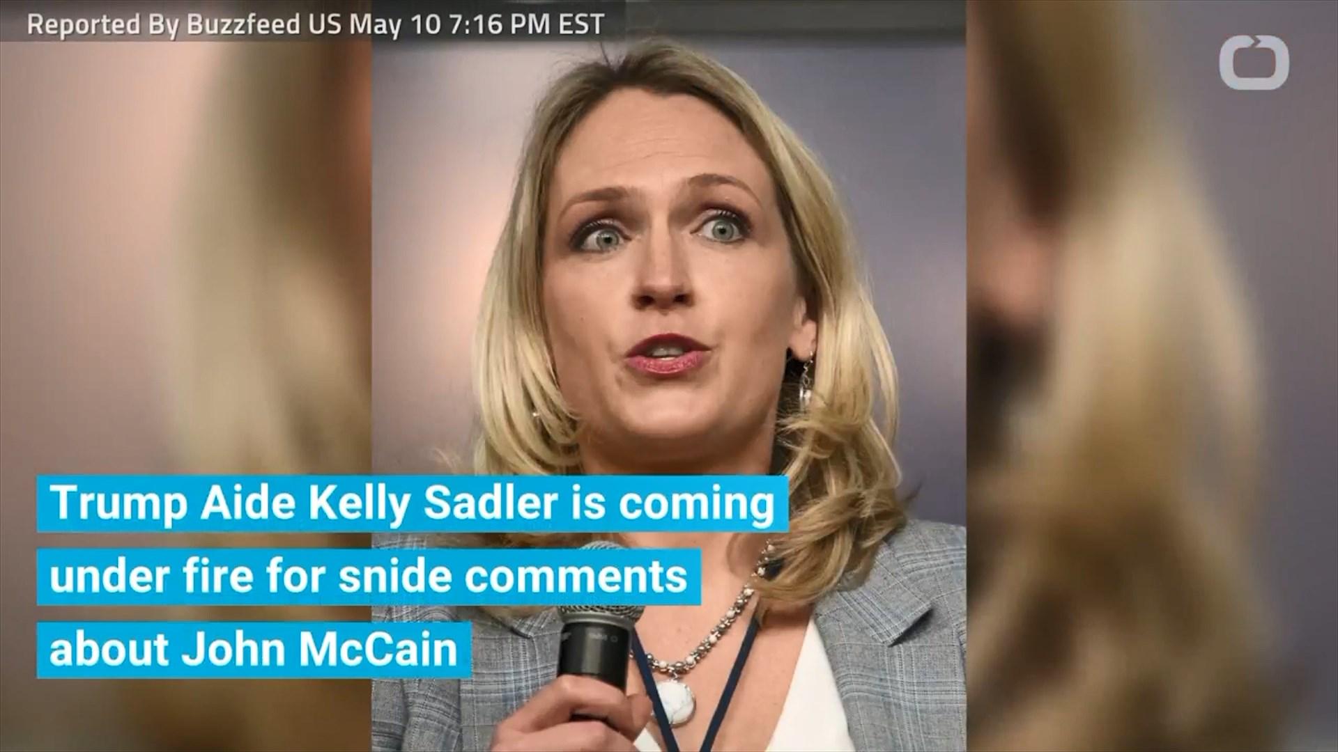 SHBA, asistentja e Trump tallet me senatorin Mccain