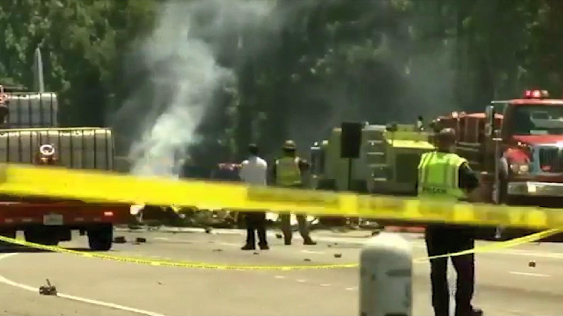 SHBA, rrëzohet avioni i Gardës ajrore/ 5 viktima në Savanah