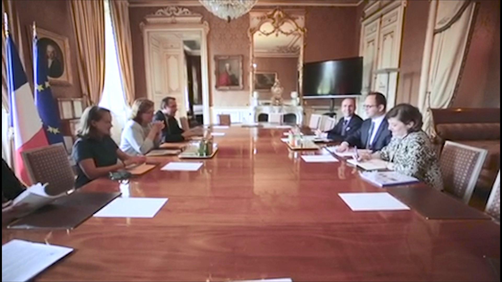 Bushati në Francë/ Loiseau: Vlerësojmë progresin e Shqipërisë