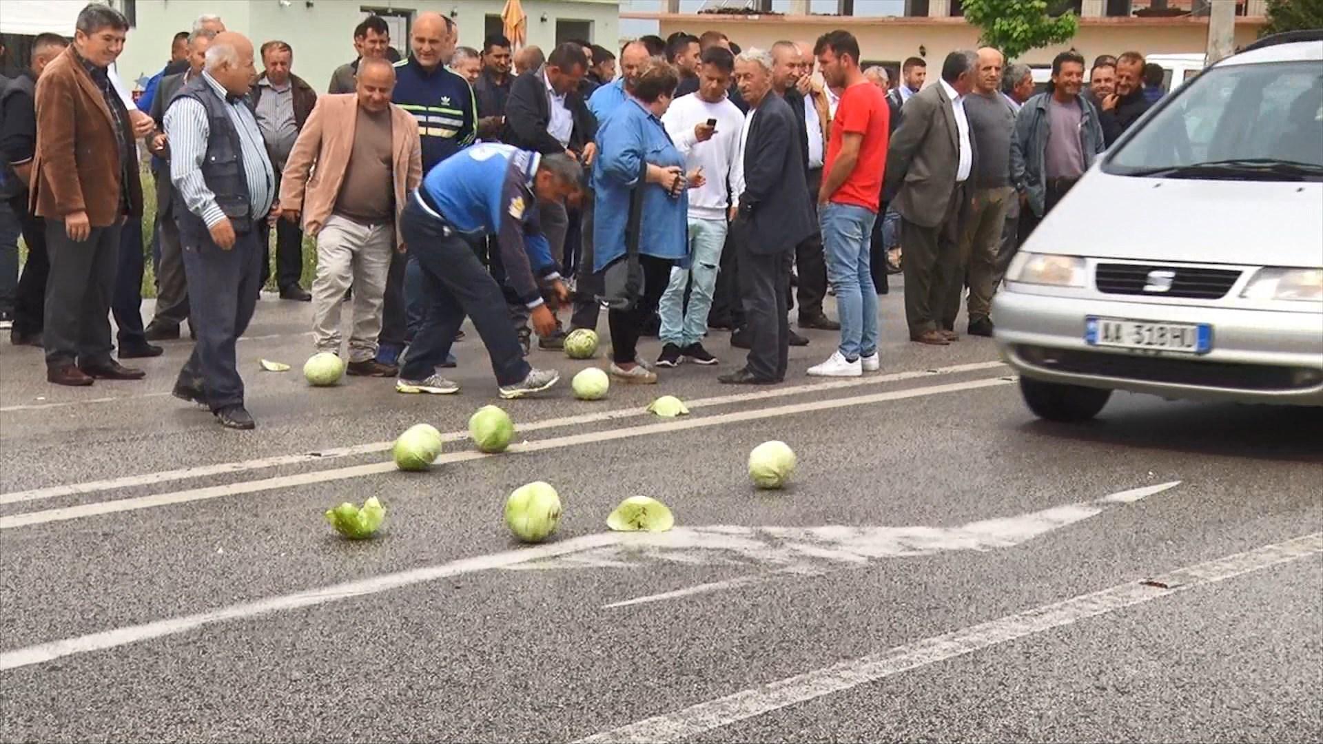 16 fshatra të Beratit e Fierit protestë për bujqësinë e infrastrukturën