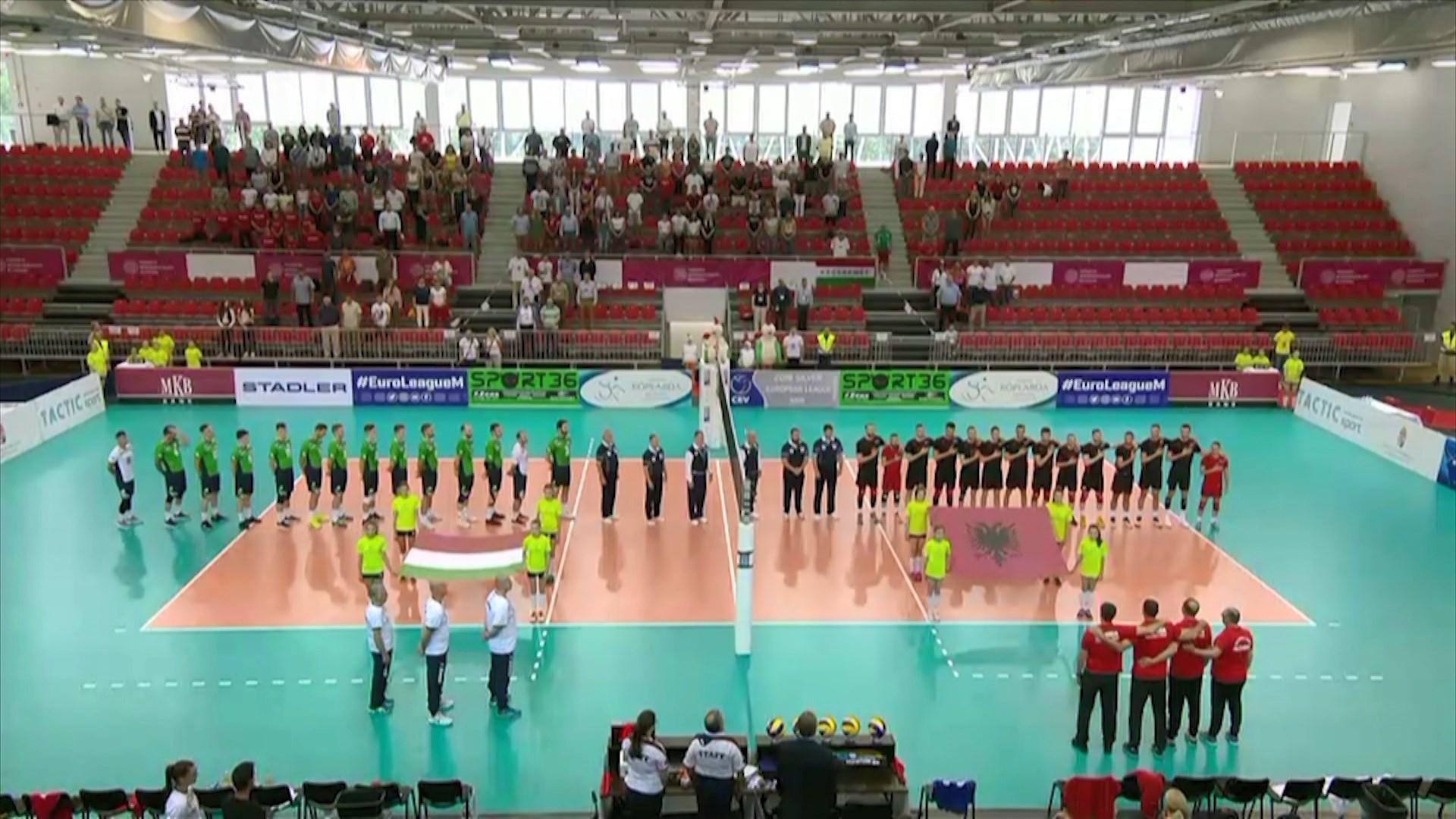 Kombëtaret me rezultate të kundërta në Europian/ Meshkujt fitojnë në Hungari