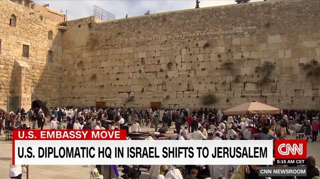 Inaugurimi i ambasadës së SHBA-së në Jeruzalem, palestinezët në protesta