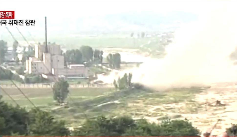 Koreja e Veriut dhuron show, shkatërron zonën e testeve bërthamore