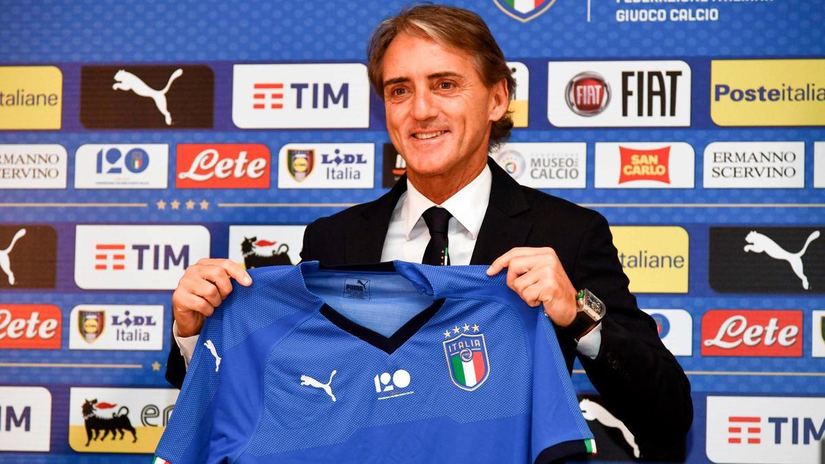 Italia, Mancini e nis me ambicie