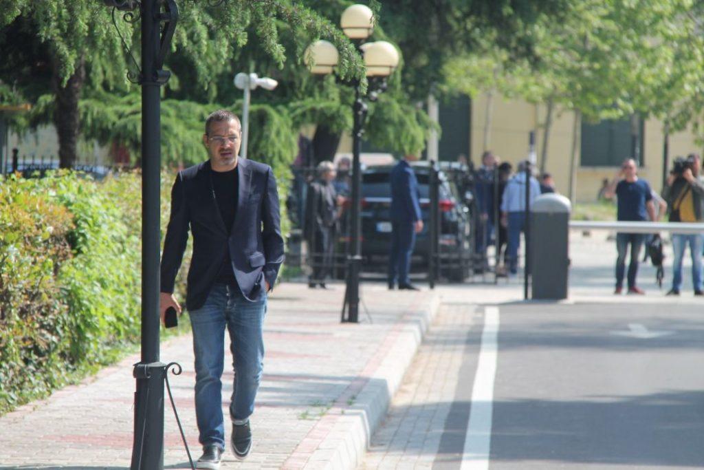 Masa e sigurisë, Saimir Tahiri del sot para gjykatës