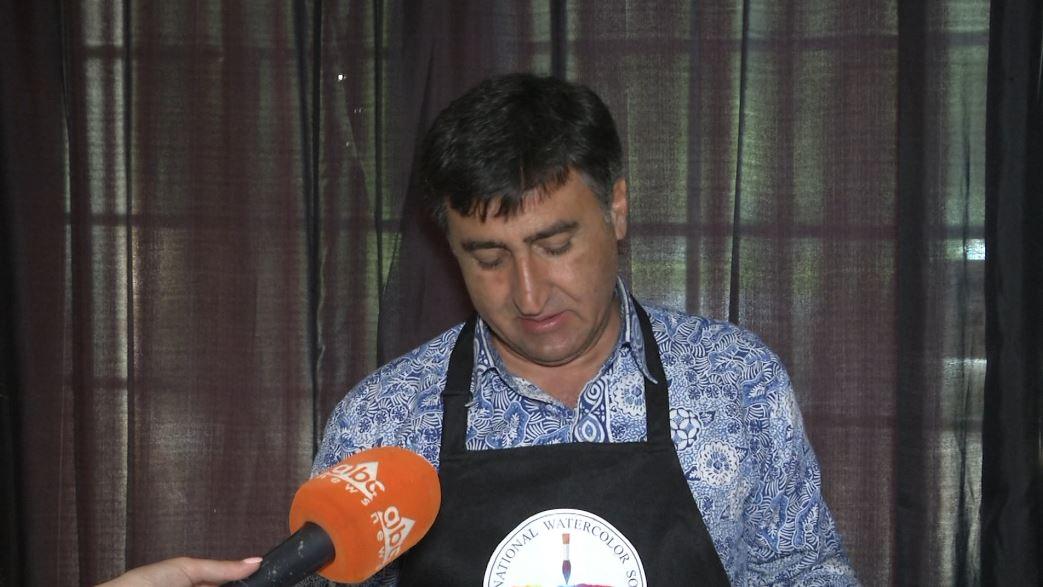 """Artisti turk Atanur Dogan """"ringjall"""" figurën e Skënderbeut në akuarel"""