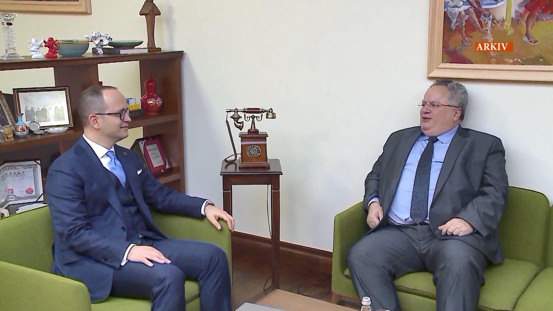 Marrëveshja e detit/ Sot Bushati do të takoje Kotzias në Rodos