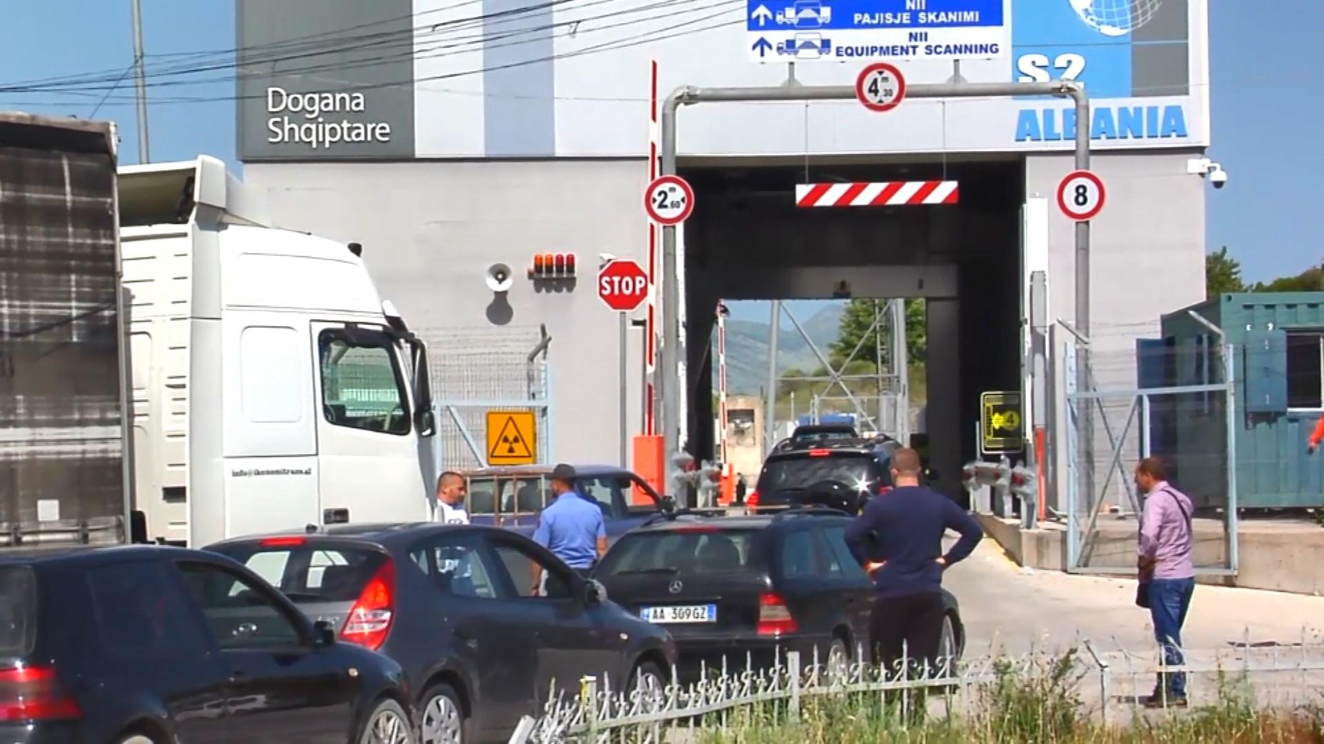 Kapet italiani me drogë në Qafë Botë të Sarandës