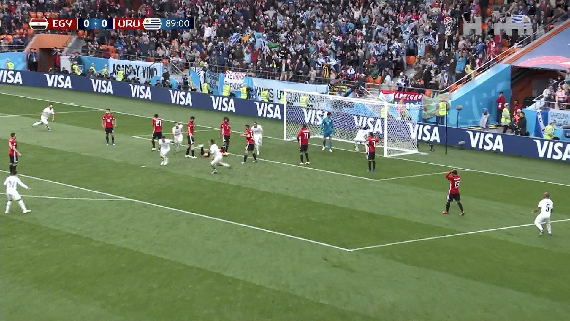 Uruguaj fiton në fund ndaj Egjiptit, falë golit të Himenezit