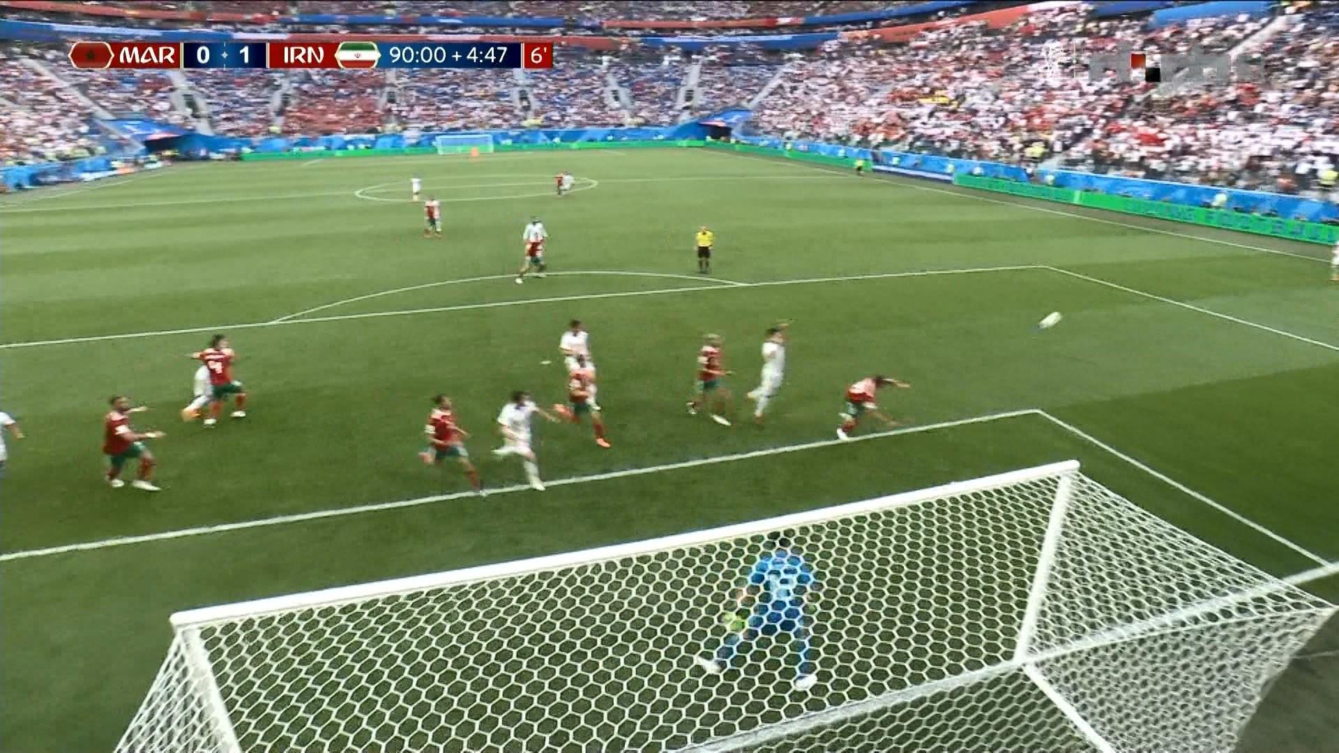 Irani fiton në minuten e pestë shtesë ndaj Marokut