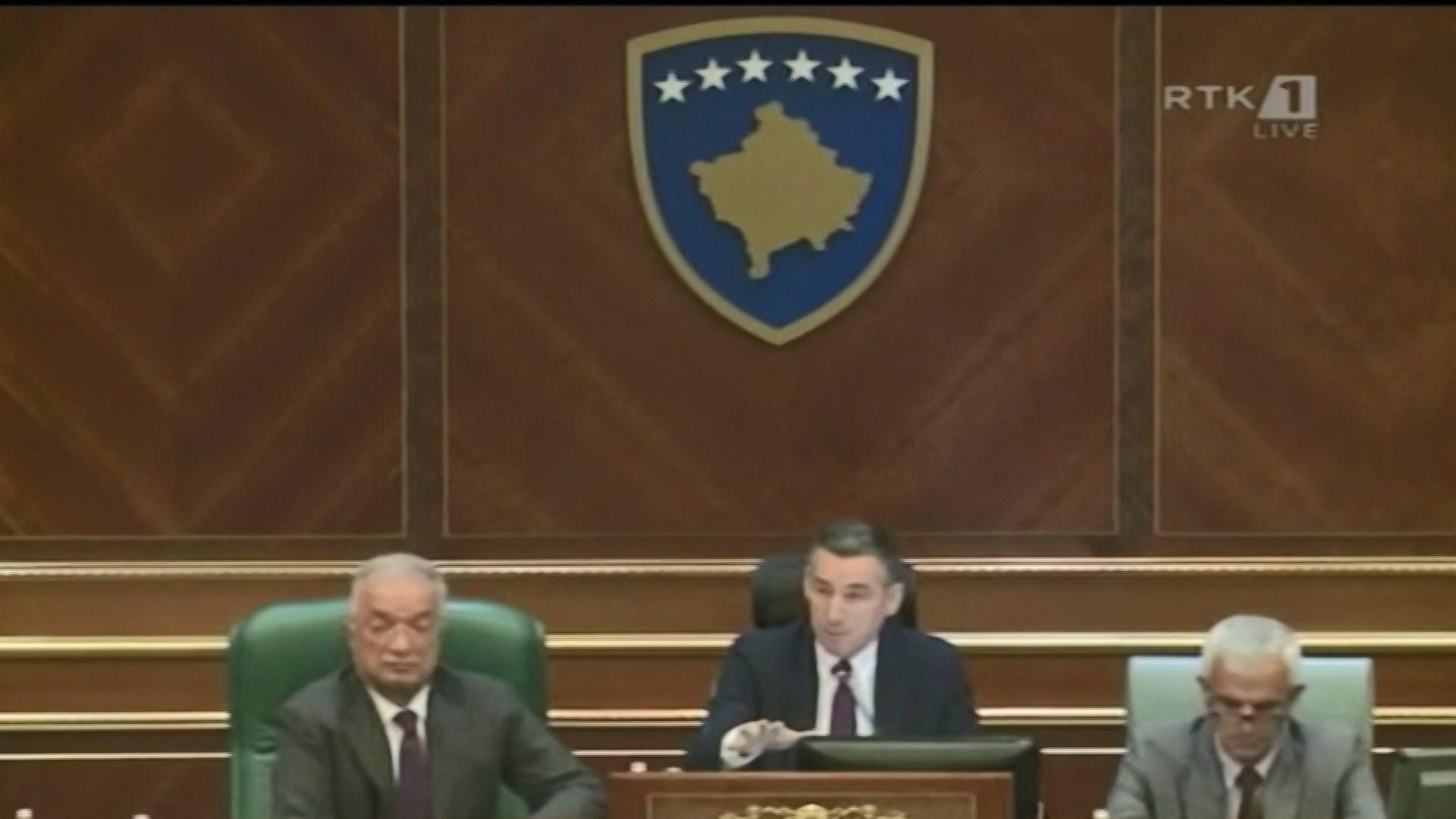Seanca e jashtëzakonshme e Parlamentit të Kosovës me kërkesën e opozitës