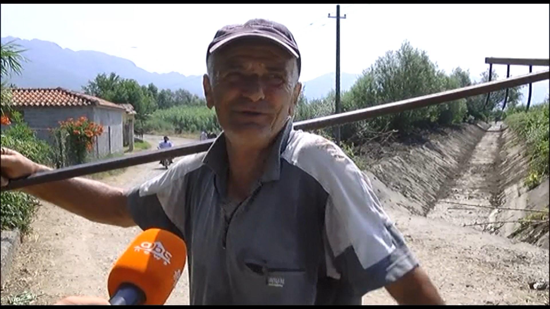 Lezhë, ndërhyrje për hapjen e kanalit vaditës për fermerët e Zadrimës