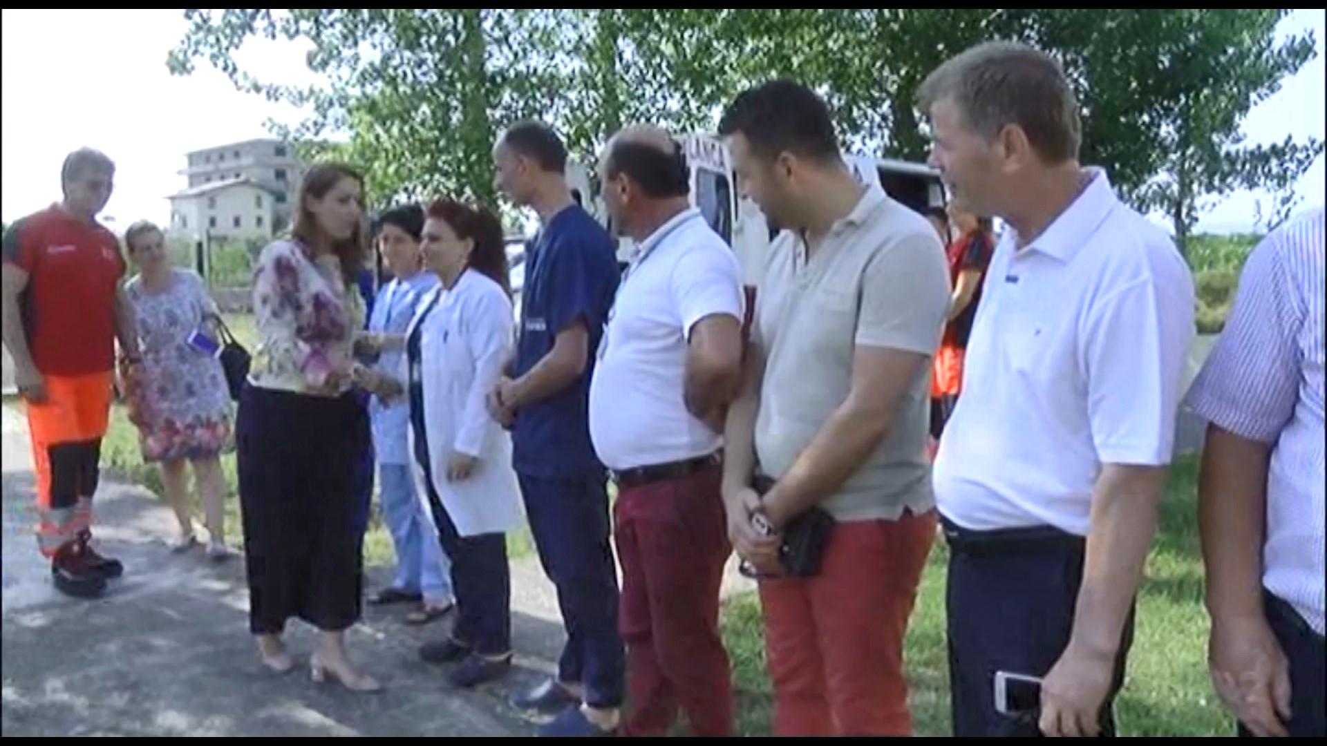 Manastirliu: Në Tale qendër shëndetësore dhe autombulancë