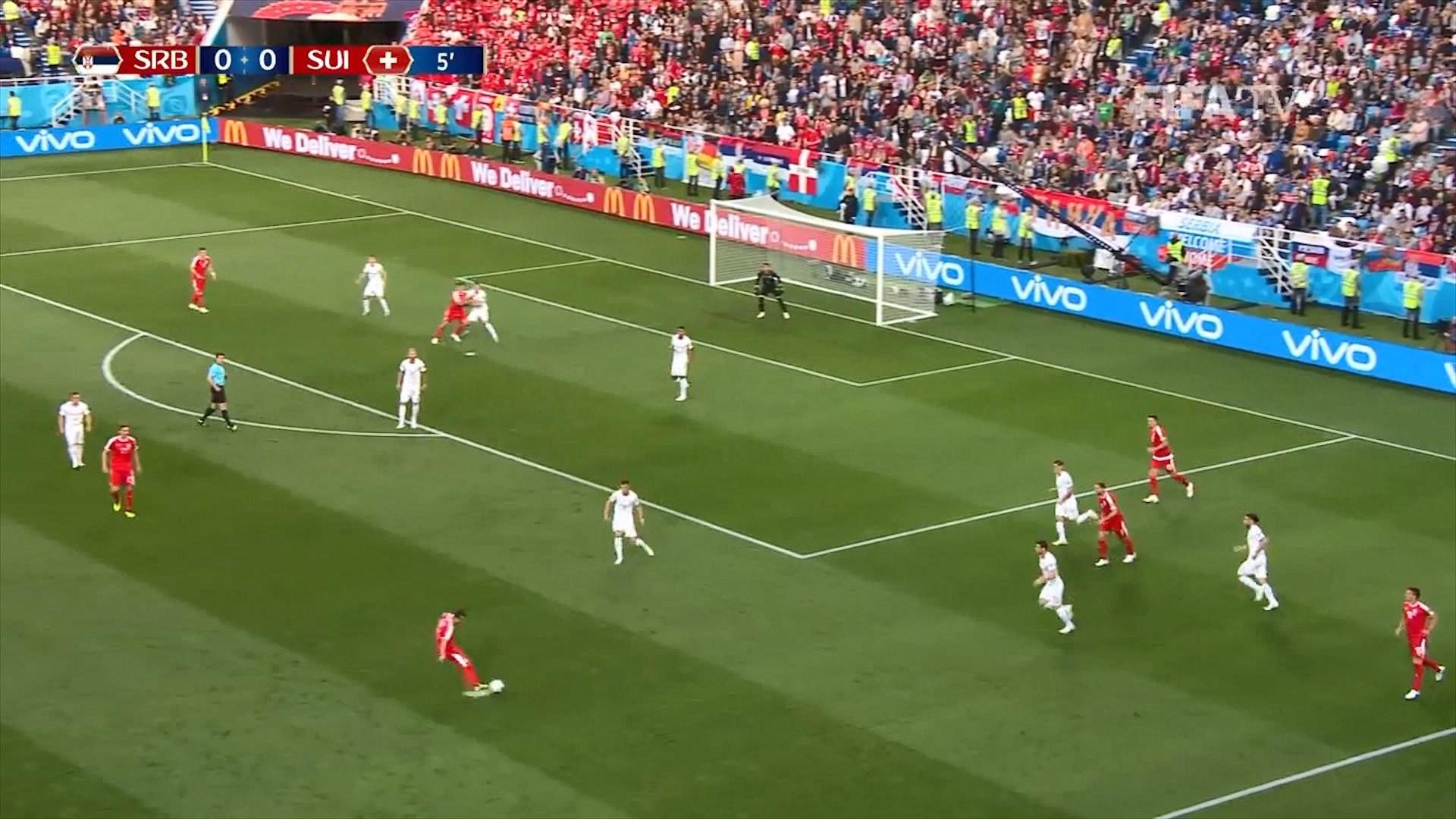 Mediat pas ndeshjes Serbi – Zvicër: Pse lojtarët e Serbisë s'gjykohen për gjestin e tyre?