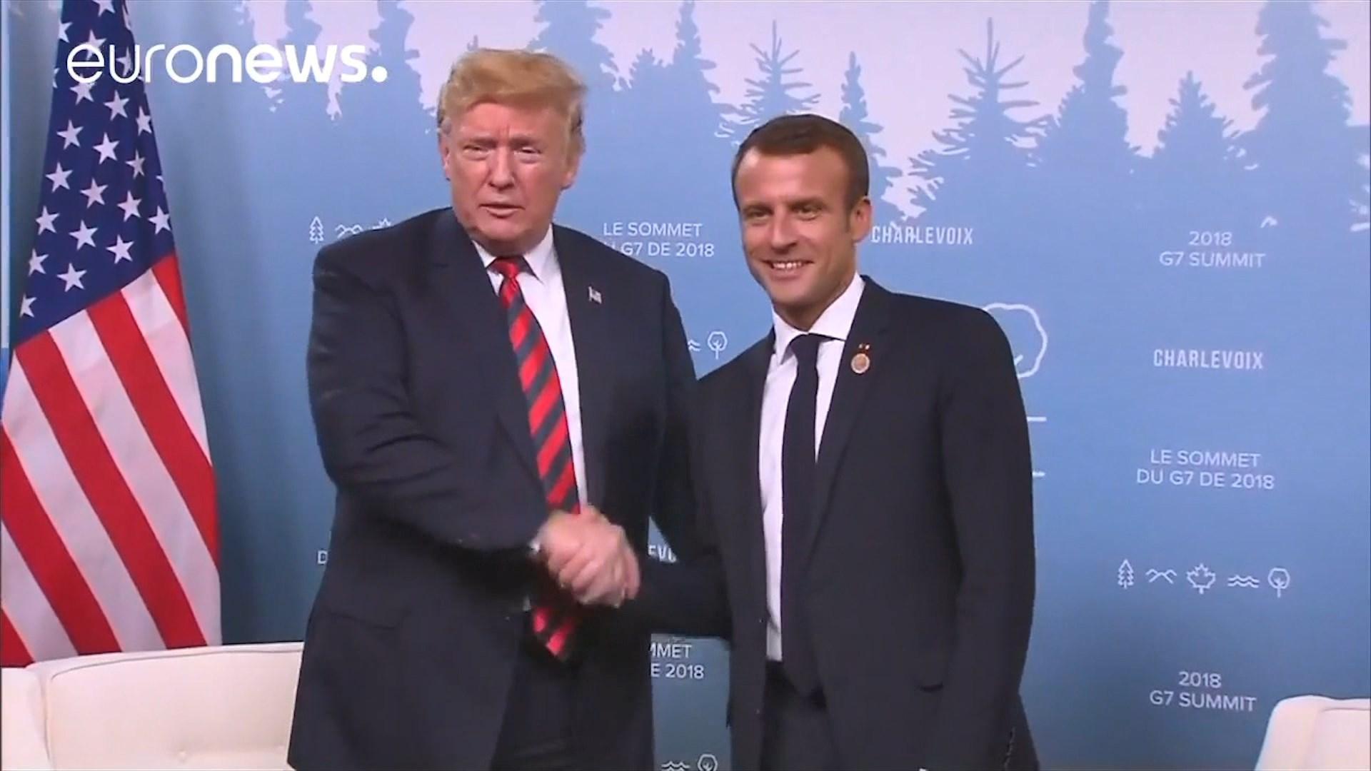 """""""Nuk jemi shtet vasal!"""" Macron i përgjigjet Trump"""