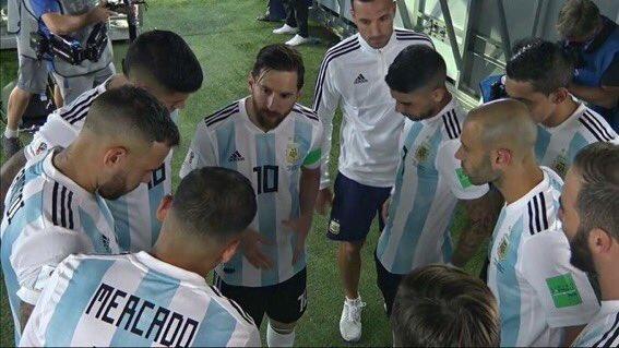 Video/ Çfarë u tha Messi shokëve të skuadrës para pjesës së dytë