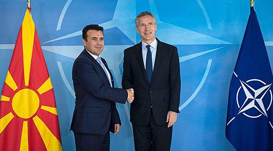 Zaev: Pres anëtarësimin e Maqedonisë në NATO në Dhjetor