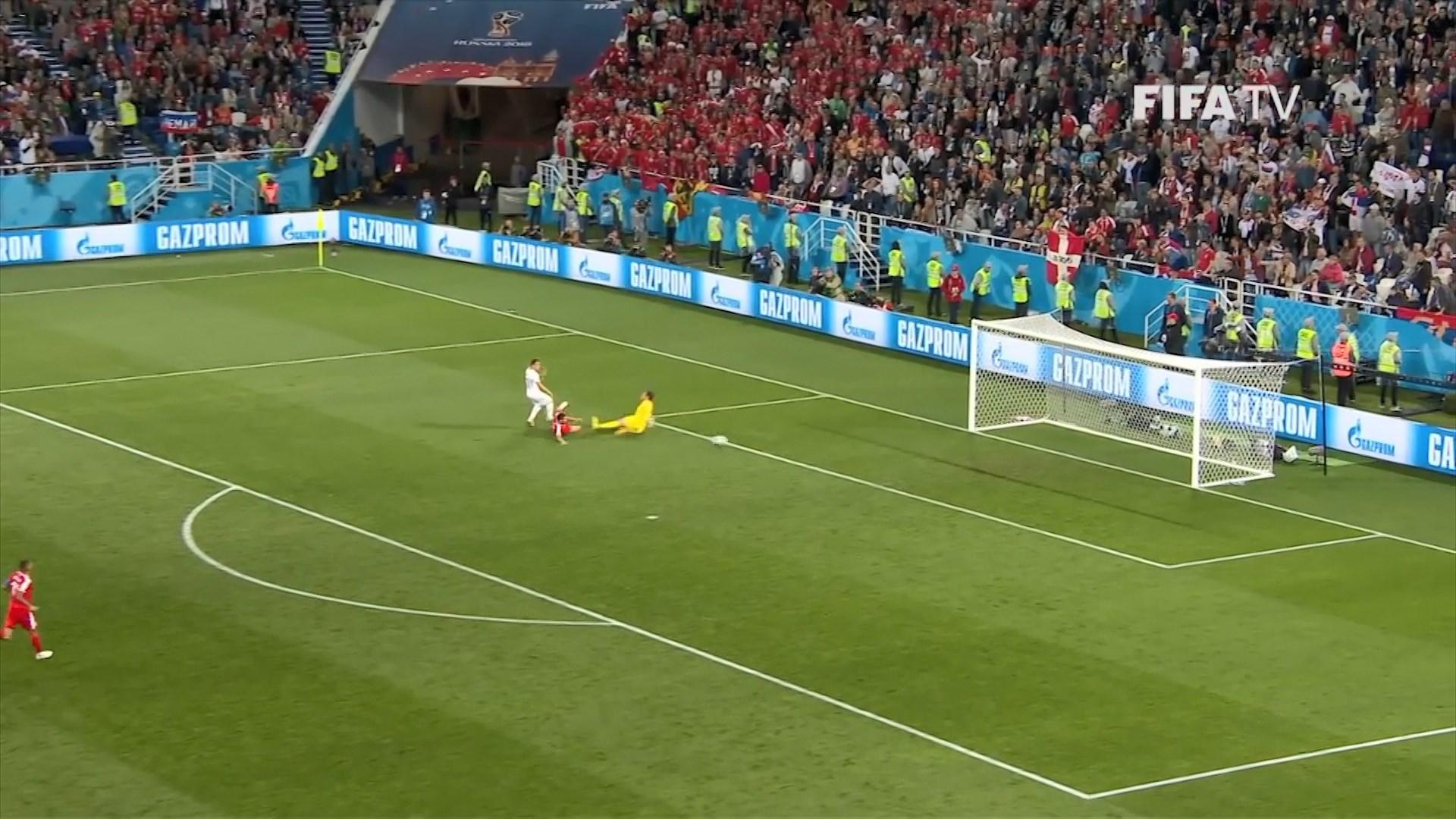 Gola të shkëlqyer ne Botëror/ Nga Xherdan Shaqiri i Zvicrës, tek Naser Çadli i Belgjikës