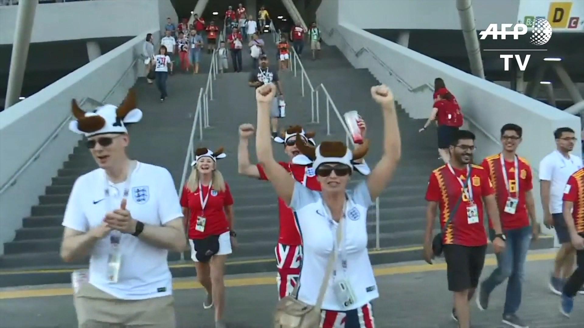 Entuziazëm i madh në Angli dhe Kroaci për fitoret në Botëror