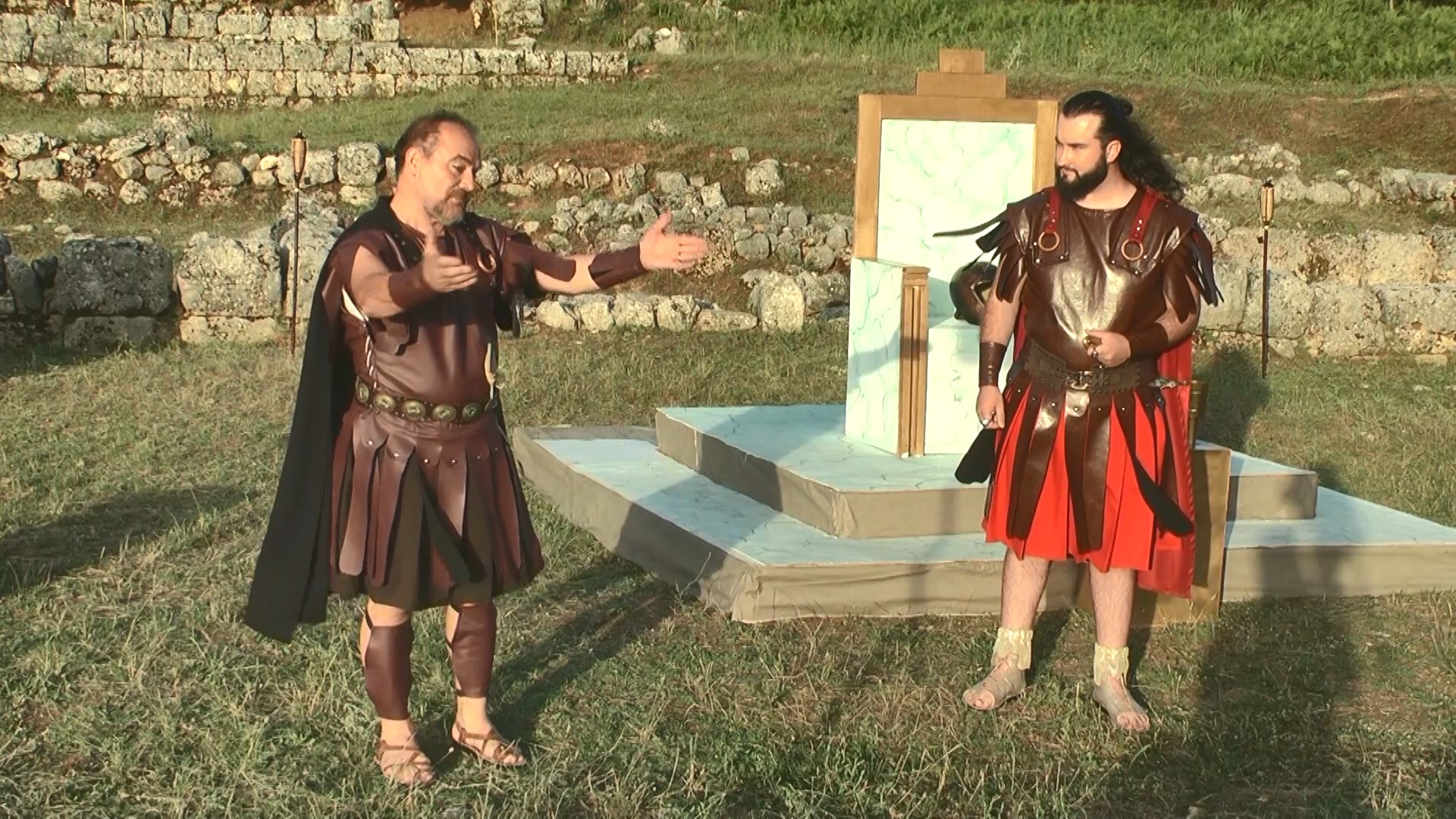 """Tragjedia """"Pirro"""" në Antigone, atje ku sipas legjendës ishte qyteti i Antigonës"""