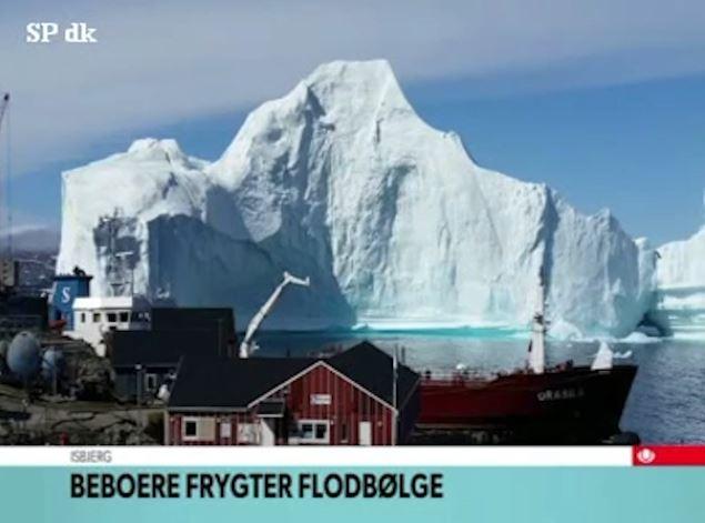 Ajsbergu që rrezikon të shuajë fshatin, nëse përplaset do të ketë tsunami