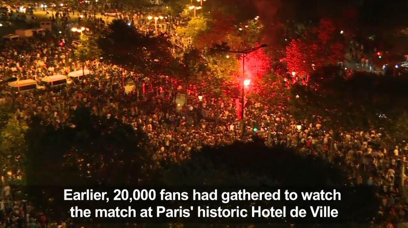 Kualifikimi i Francës, tifozët në festë