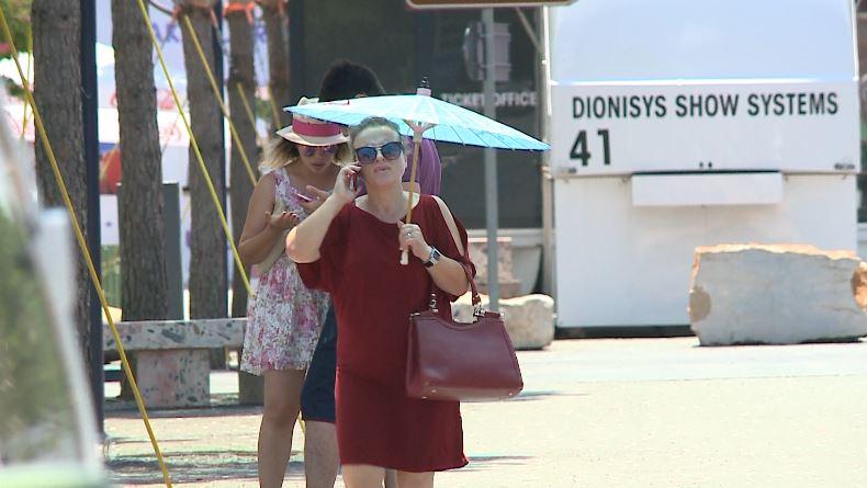 Fundjavë temperaturash të larta në Shqipëri