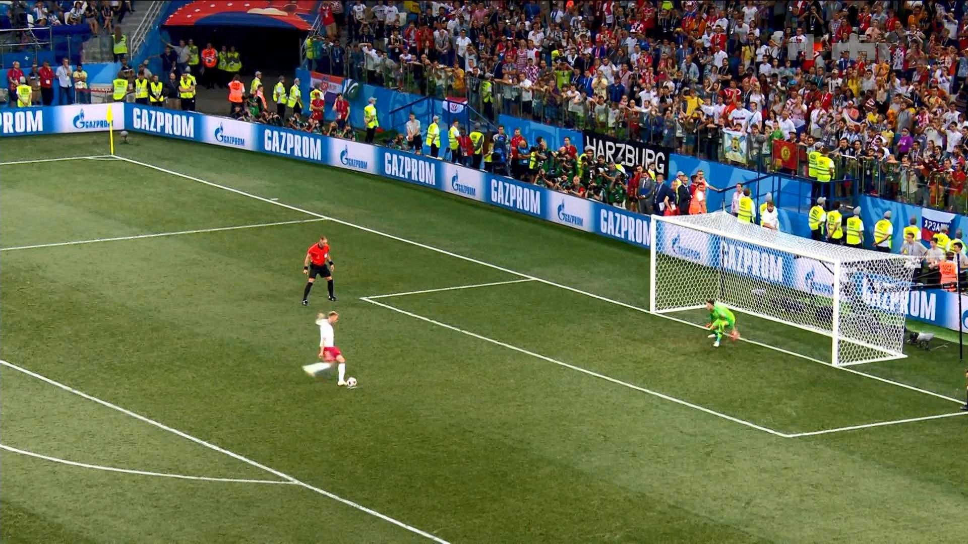 Rakitiç i jep fund dramës së penalltive/ Kroacia mposhti me fat Danimarkën