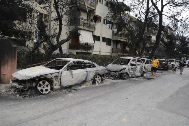 Greqia pas zjarreve, vetëm hi dhe shkatërrim