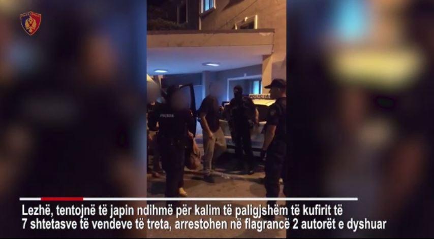 Tentojnë të kalojnë nga Rana e Hedhun, arrestohen dy persona