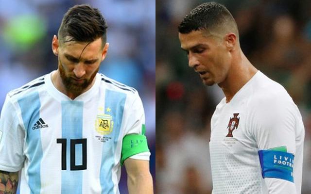 Mediat botërore, jehonë eleminimit në një ditë të Mesit e Ronaldos