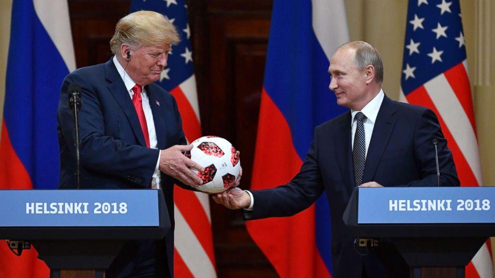 Ironia e Putin, i dhuron topin e Botërorit Trump