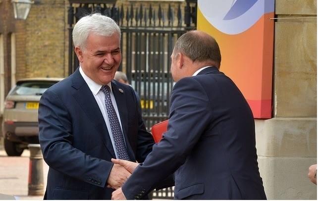 Samiti i Ballkanit/ Xhafaj takon në Londër ministrin për Sigurinë, Ben Wallance