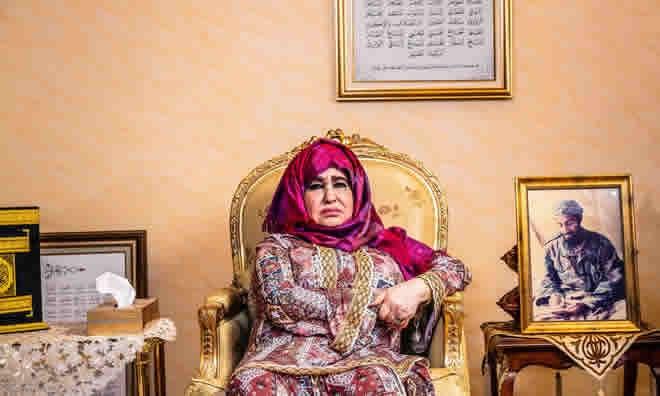 Intervista, flet e ëma e Osama Bin Laden