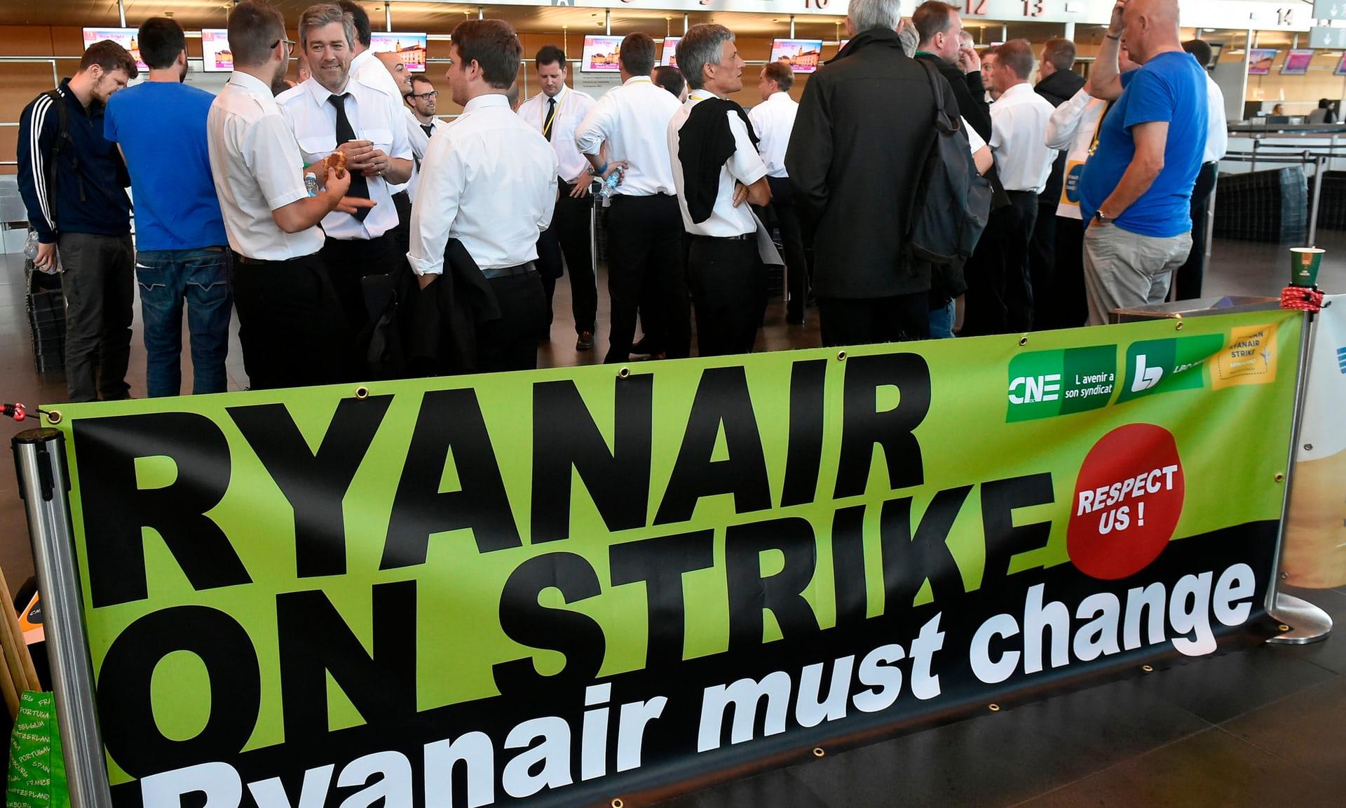 Pilotët nga 5 vende të kompanisë ajrore Ryanair në grevë
