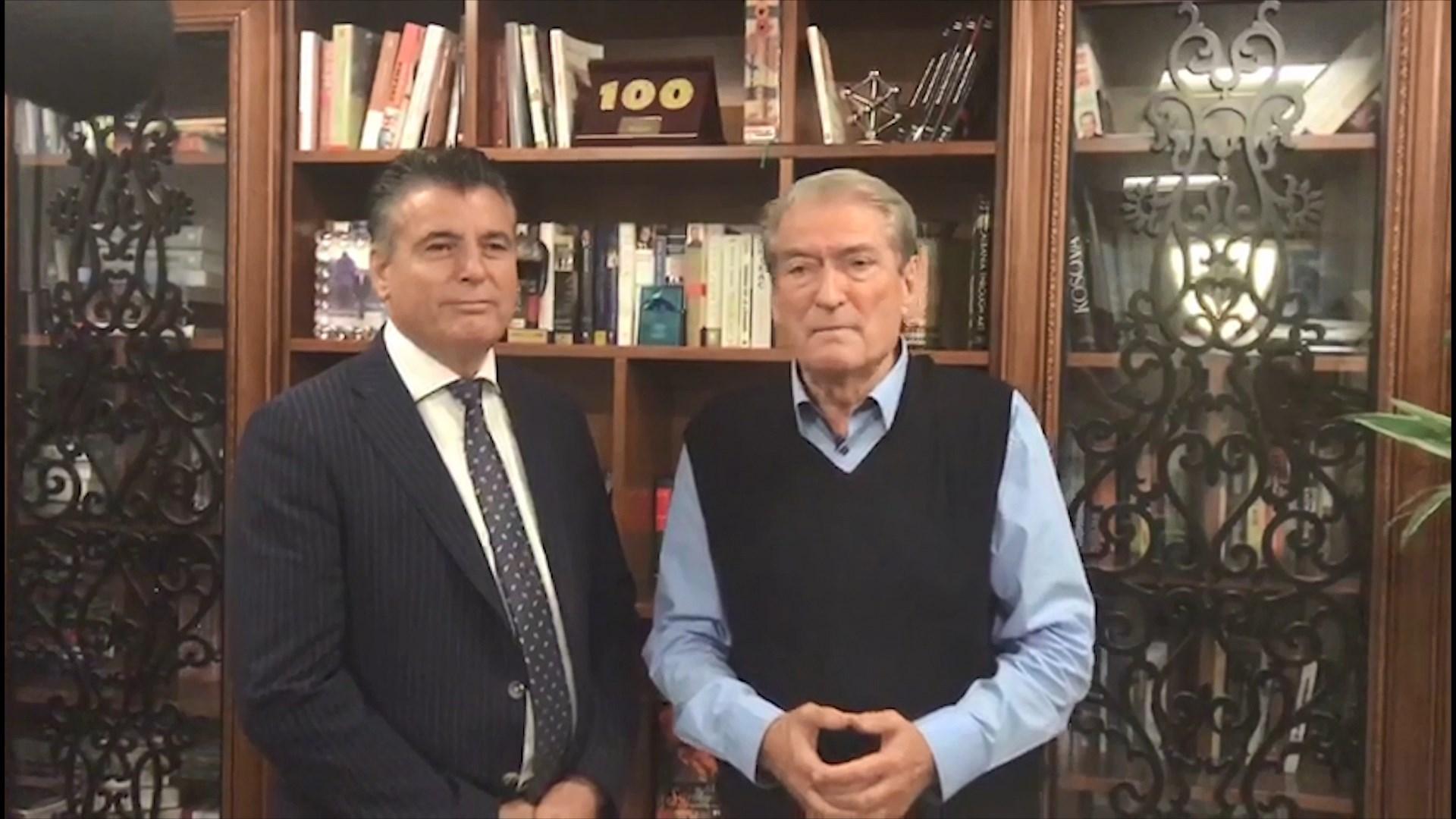 """Berisha me kreun e Mitrovicës: Ndryshimi i kufijve, ide e """"serbomëdhenjve"""""""