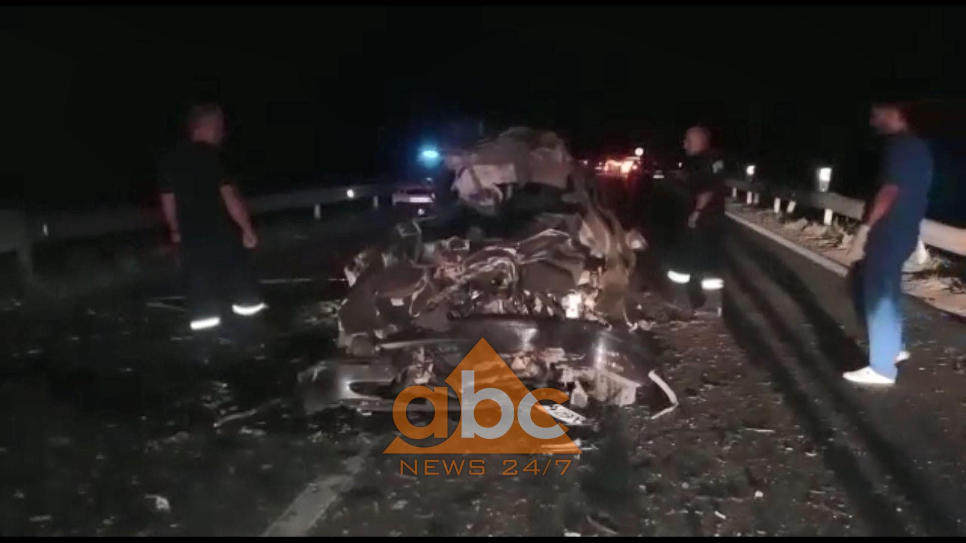 Benzi përplaset me kamionin në Lezhë-Shkodër, vdesin dy të rinj