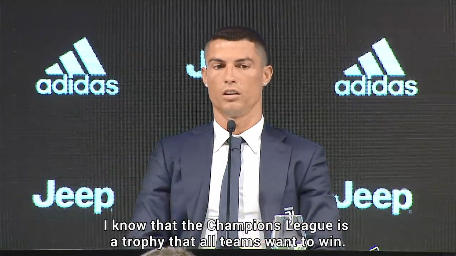 Ronaldo thumbon Realin në intervistën e dhënë për Juventusin