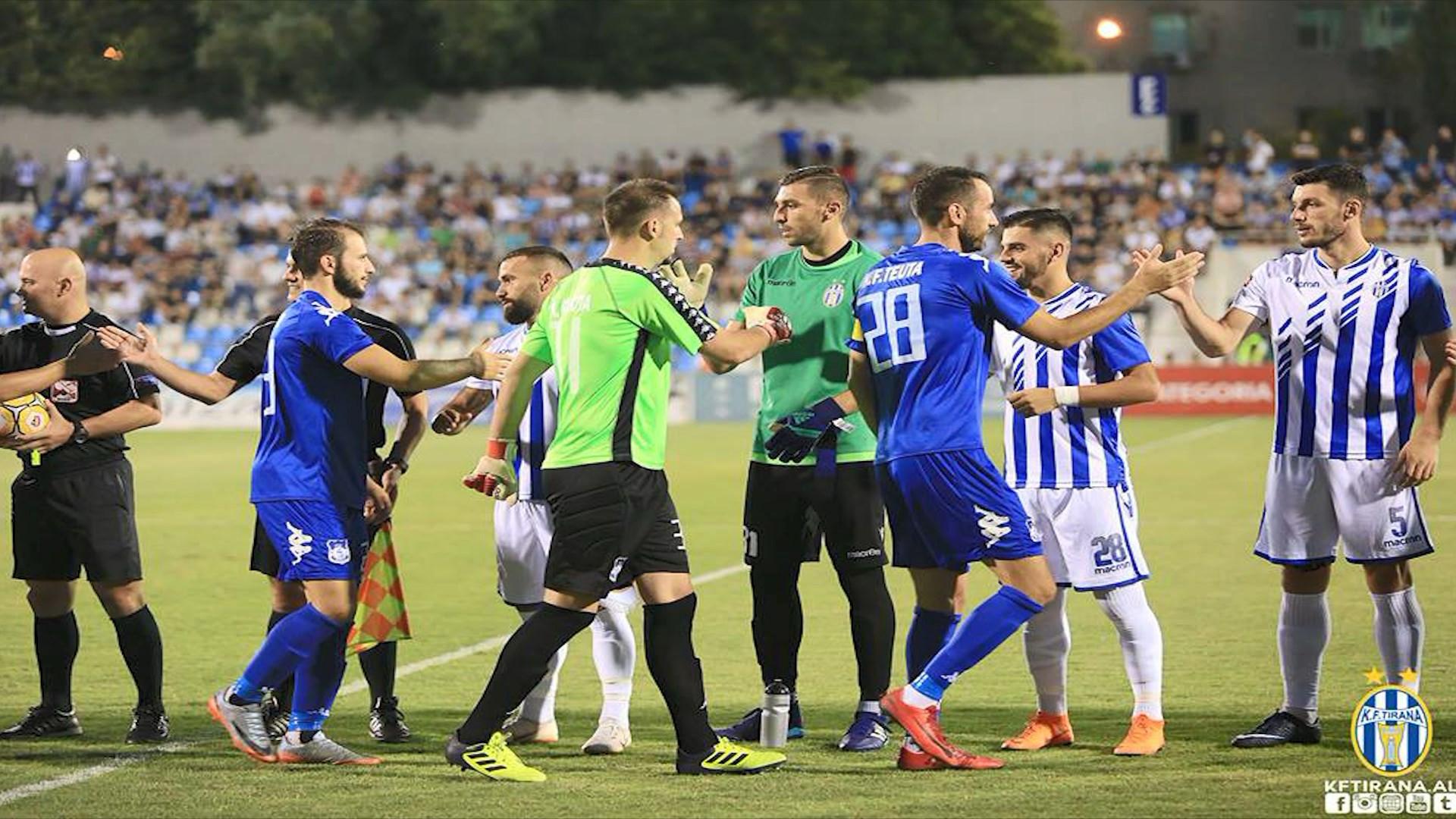 """FSHF sposton ndeshjen, Teuta-Tirana do të luhet në """"Elbasan Arena"""""""