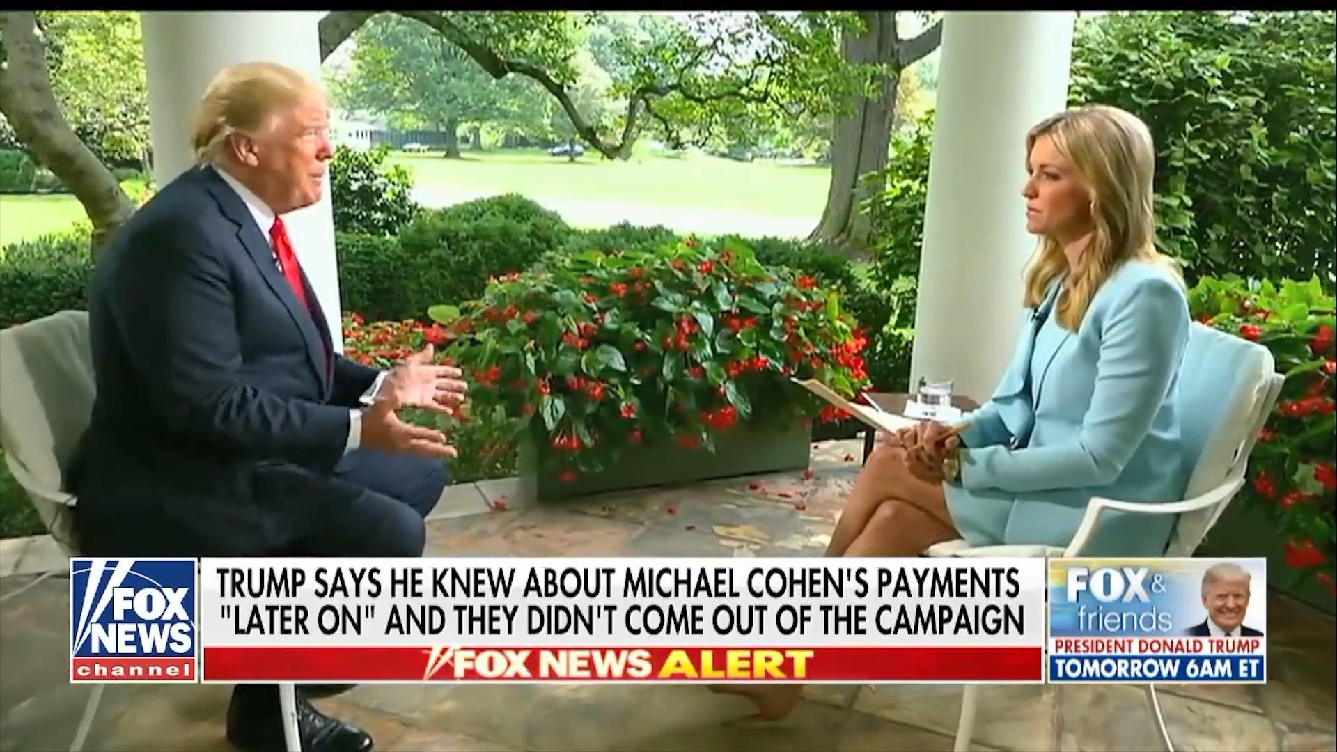 Trump për Fox News: Paratë që dha ish-avokati Cohen i kam paguar unë