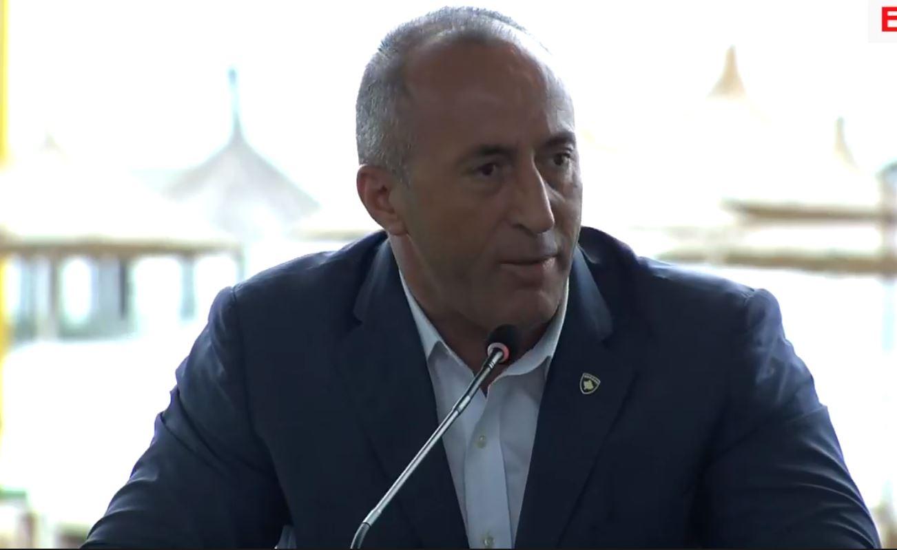 Haradinaj nga Durrësi: Kosova i ka kufijtë dhe duhen respektuar