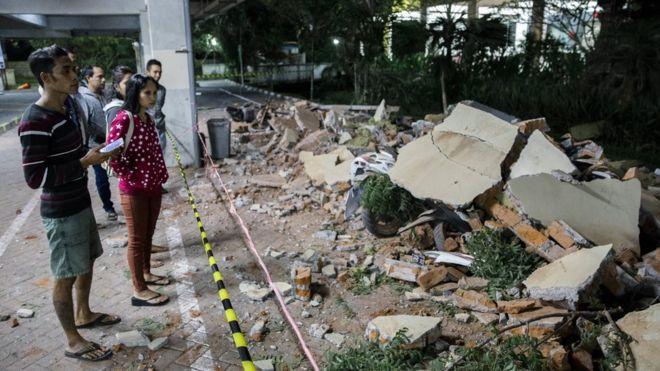 Tërmet 7-ballësh në Indonezi, viktima dhe dëme materiale