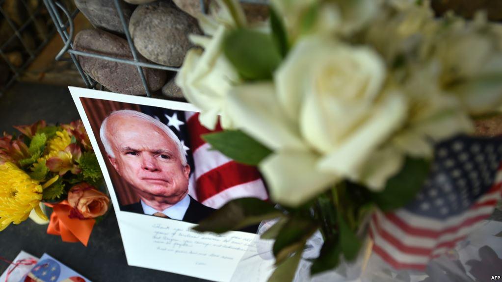 Letra e lamtumirës e senatorit McCain
